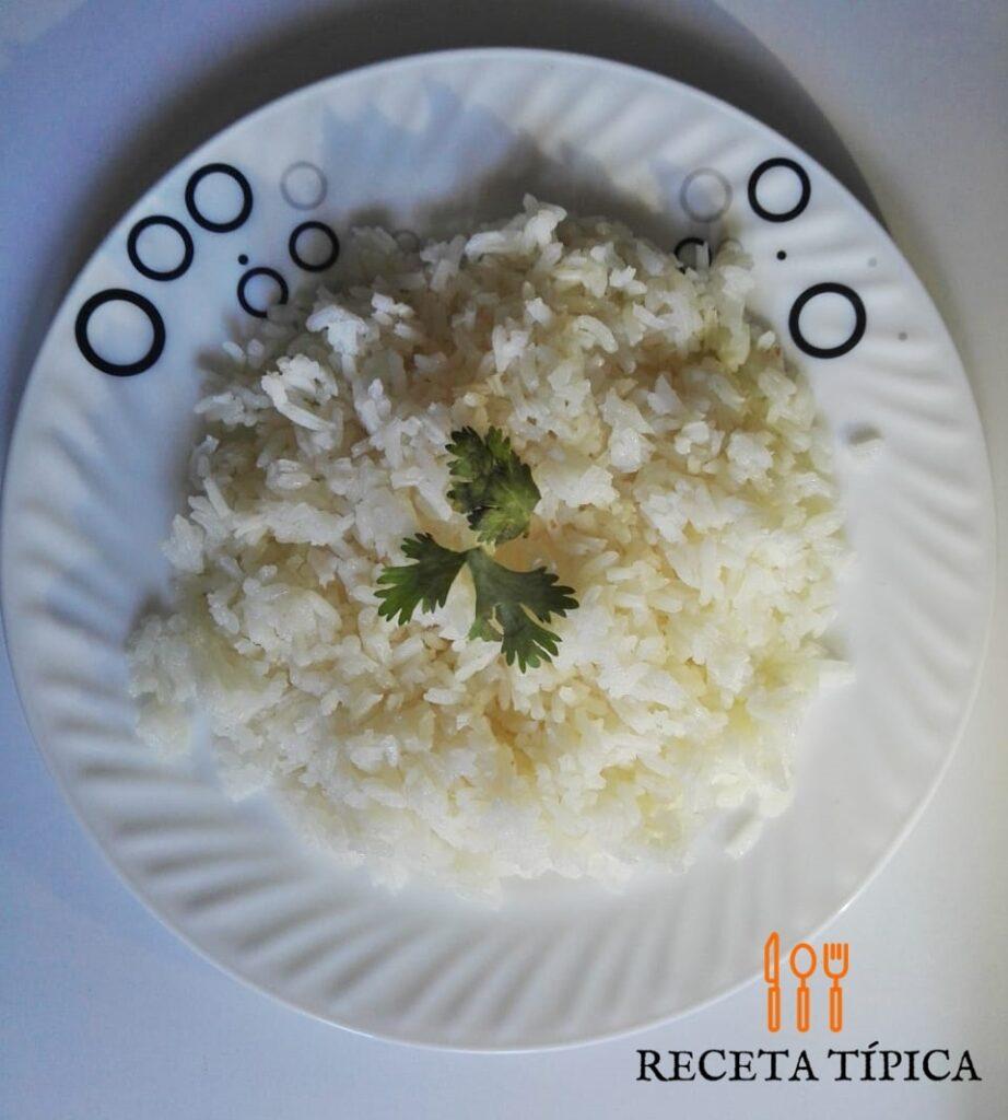arroz seco rápido y fácil