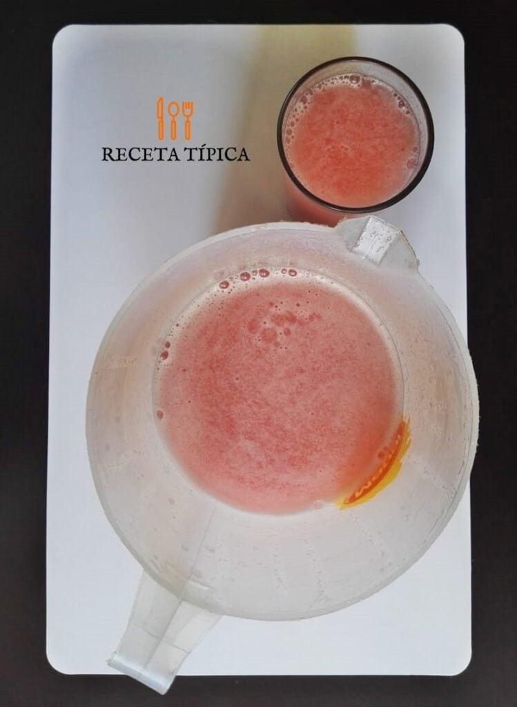 Receta colombiana de jugo de guayaba