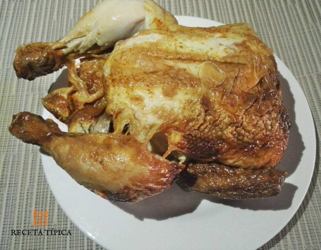 Pollo asado al horno recipe