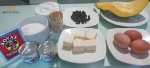 Ingredientes para preparar torta de auyama
