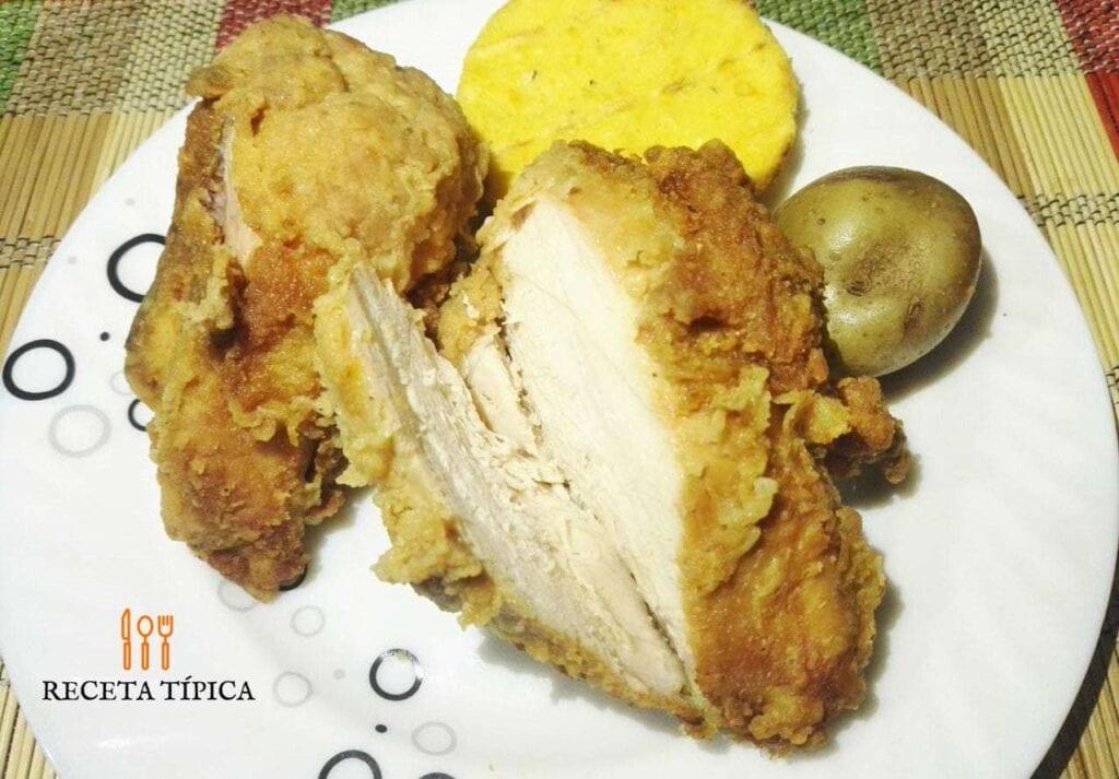 pechugas de pollo apanadas