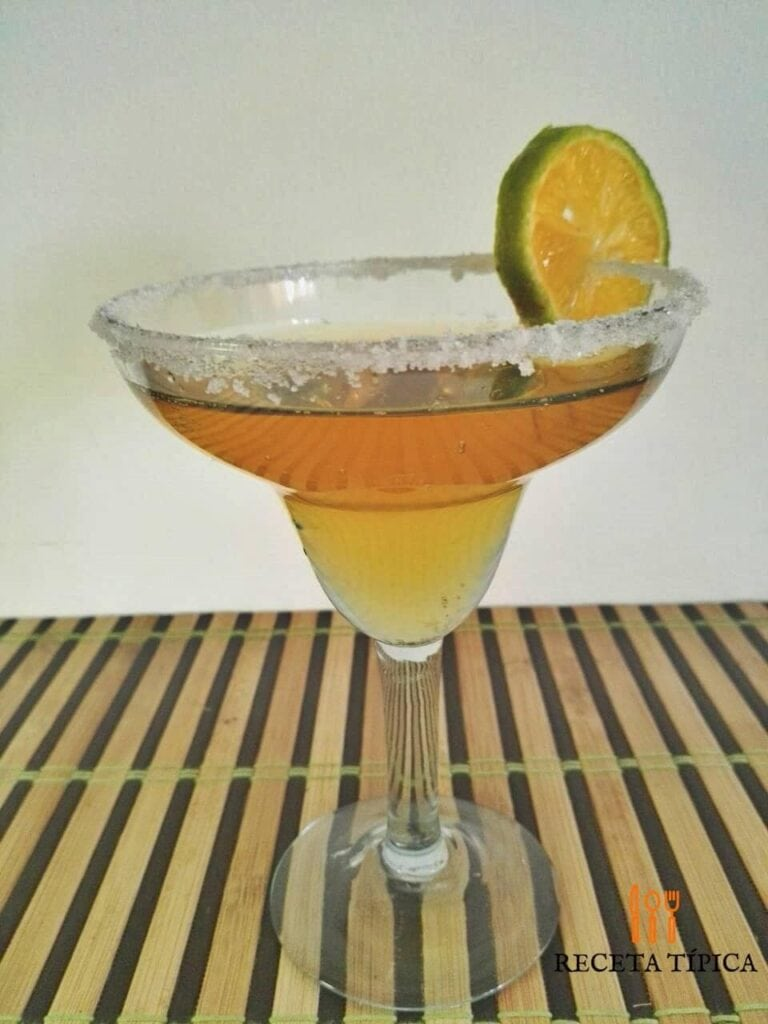 cóctel margarita recipe