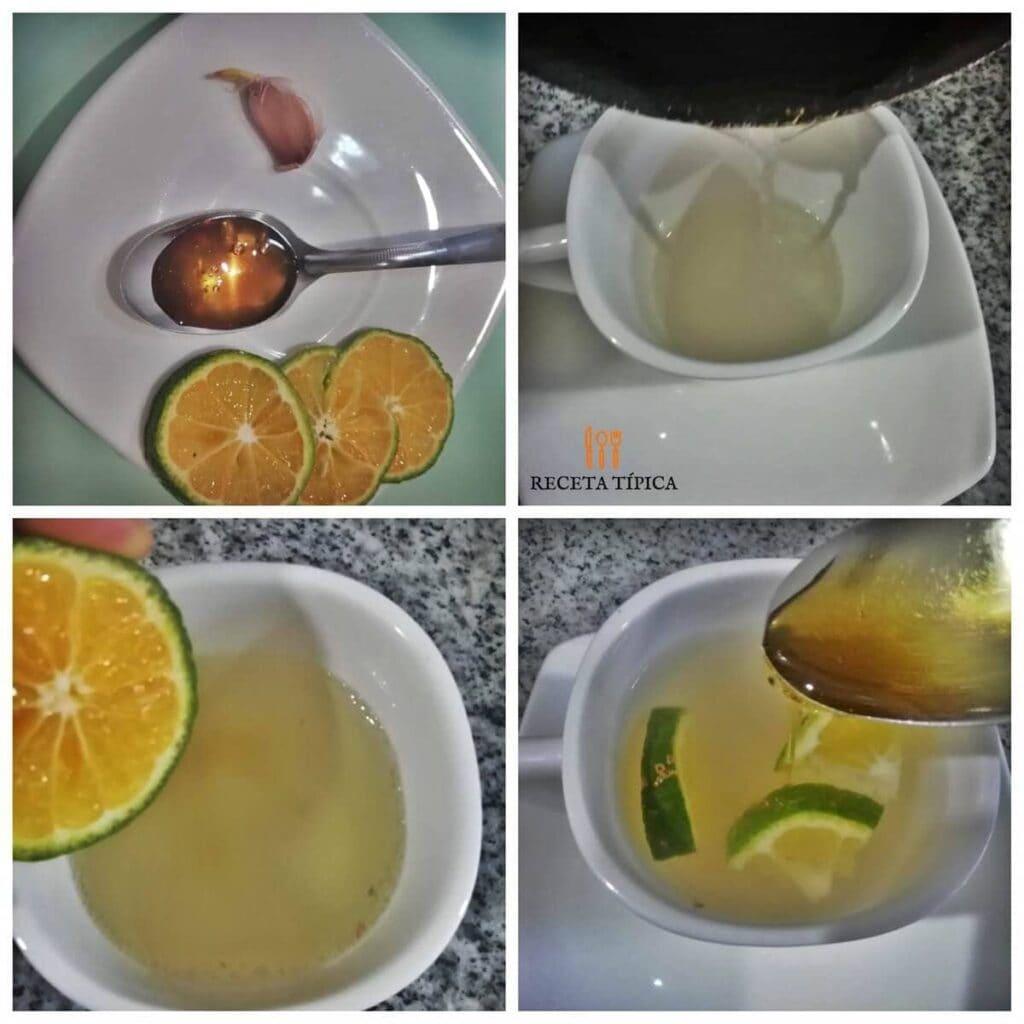Instrucciones paso a paso para preparar té de ajo
